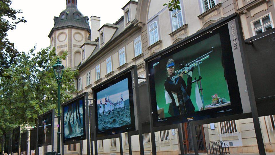 Významný český fotograf Herbert Slavík vystavuje v plzeňských Smetanových sadech