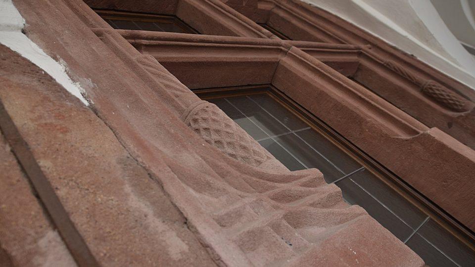 Detaily radniční budovy