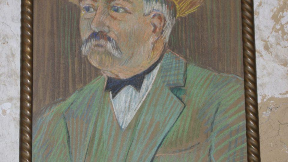 V sušárně mají i podobiznu jejího zakladatele Jana Staroštíka