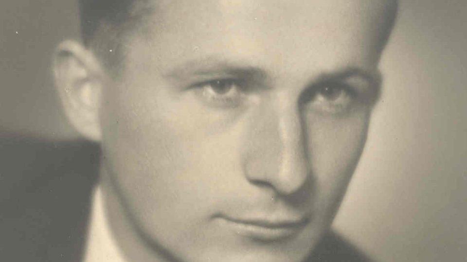 Maturitní foto Františka Wiendla 1945