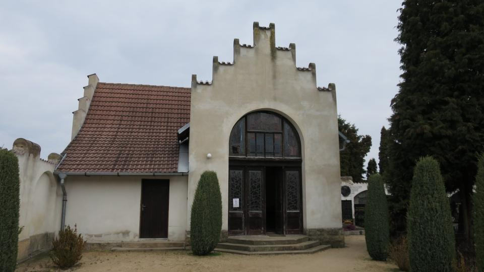 Hřbitovní kaple architekta Josefa Fanty