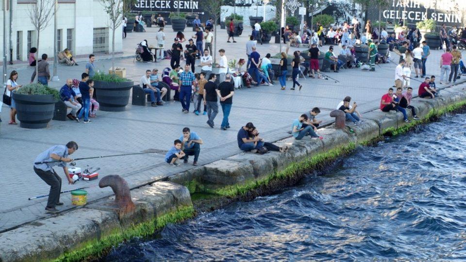 Nábřeží kolem přístavů jsou příjemným městským prostorem