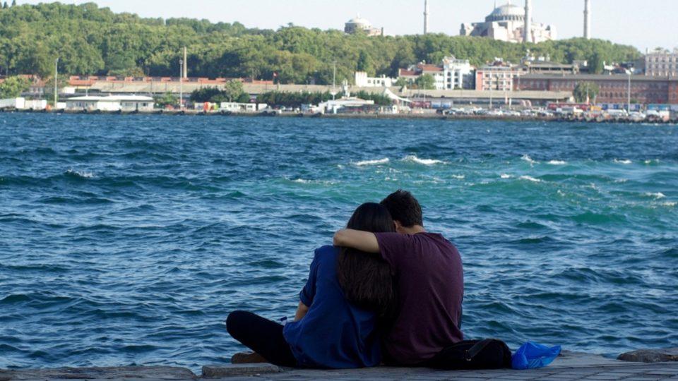 Nábřeží Istanbulu je místními oblíbené