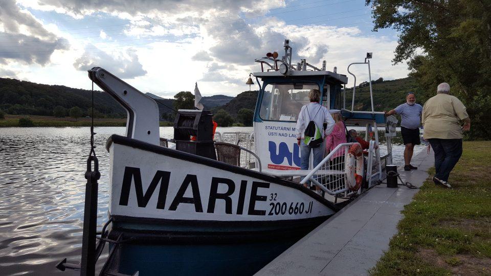 Loď Marie pluje po Labi už přes 100 let