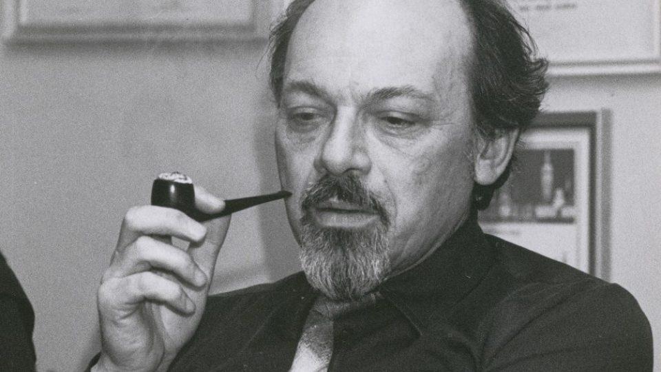 Režisér Otakar Bílek na fotografii z počátku 90. let