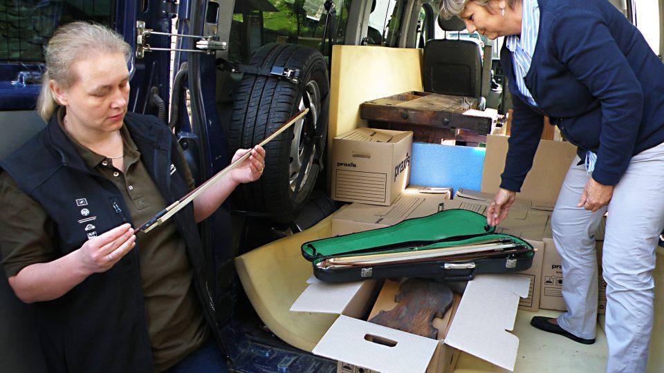 Smyčce jsou vrcholem houslařského umění