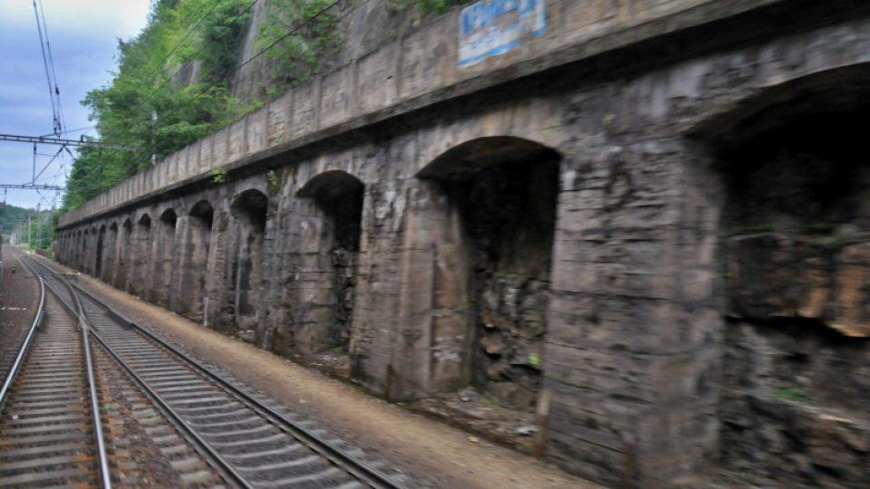 Bývalý tunel v Chocni