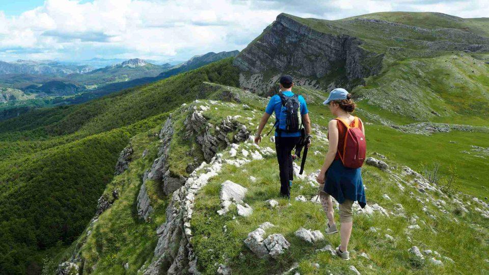 Outdoorový výlet po horách (Bosna a Hercegovina)