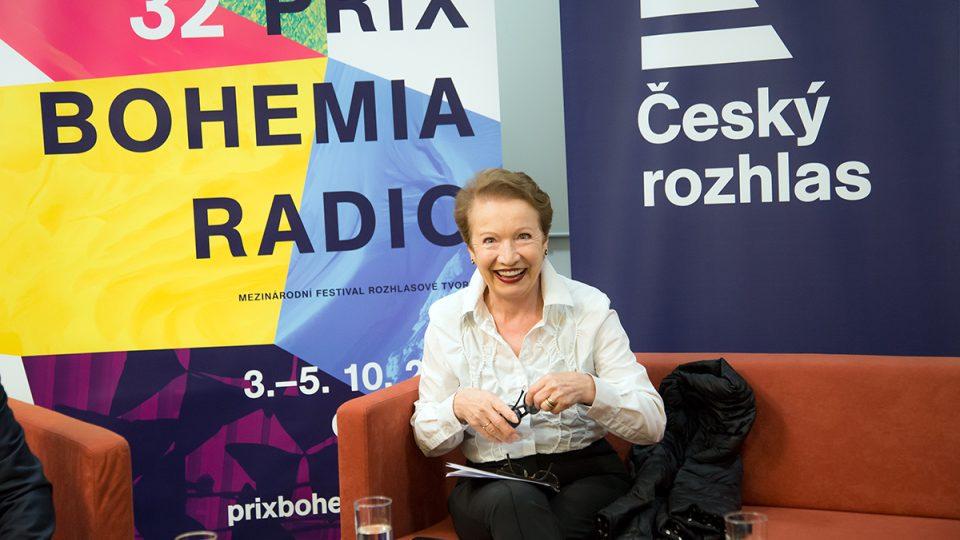 Tisková konference Prix Bohemia Radio 2016 / Hana Maciuchová