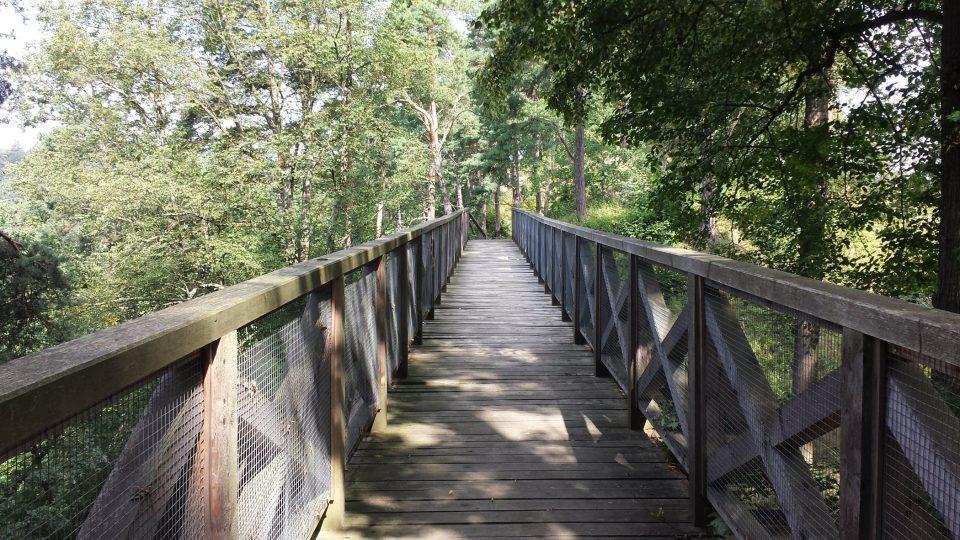 Nový most přes hradní příkop