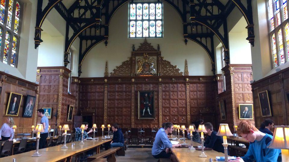 Cambridge trinity (jidelna)