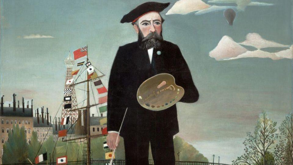 Henri Rousseau, Já, portrét-krajina, 1889–1890