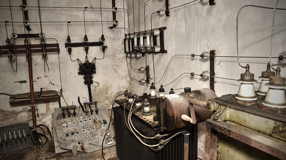 Elektrorozvodna z počátku 20. století