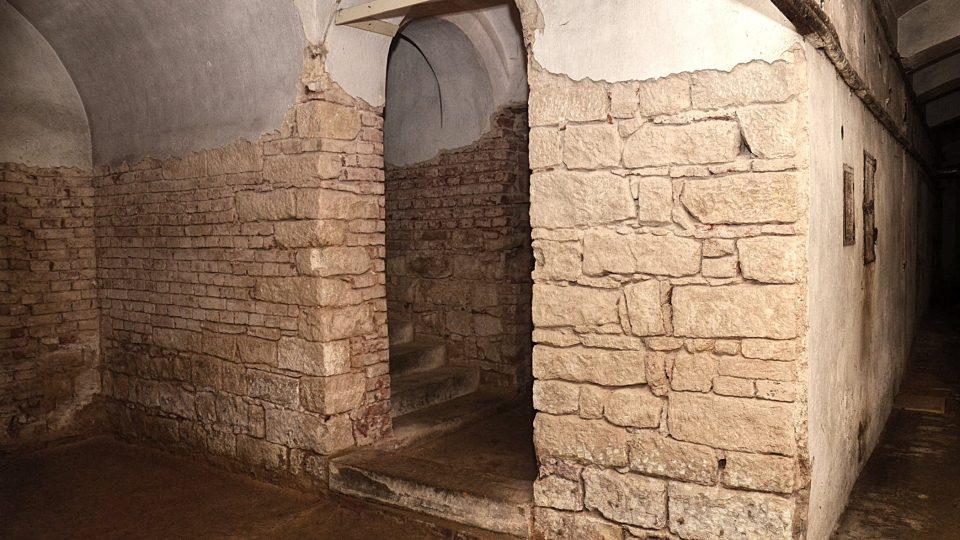 Nový prohlídkový okruh sklepení zámku