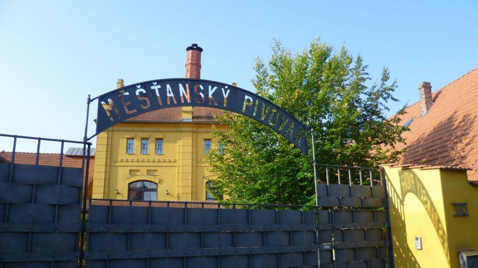 Měťanský pivovar v Polné, dnes obytný komplex