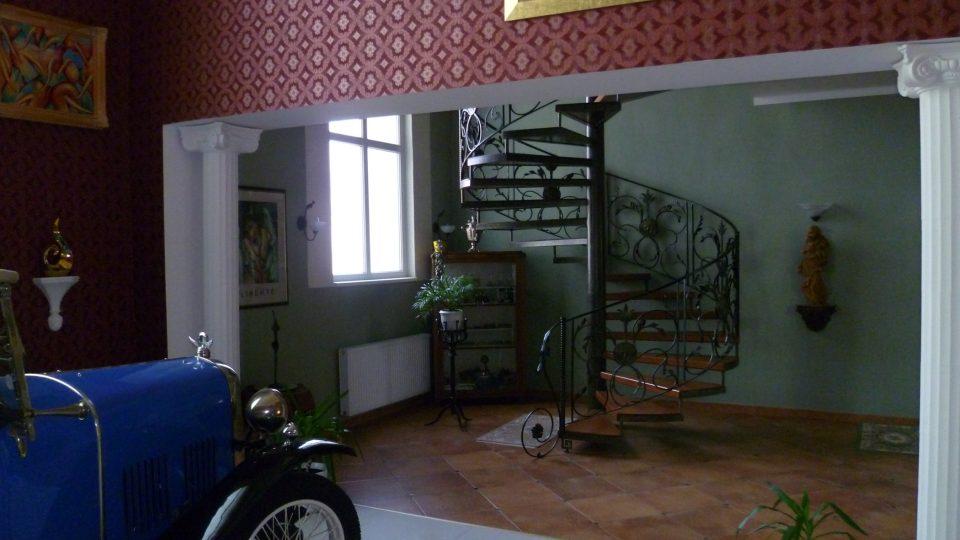 Pivovar Polná, interiér