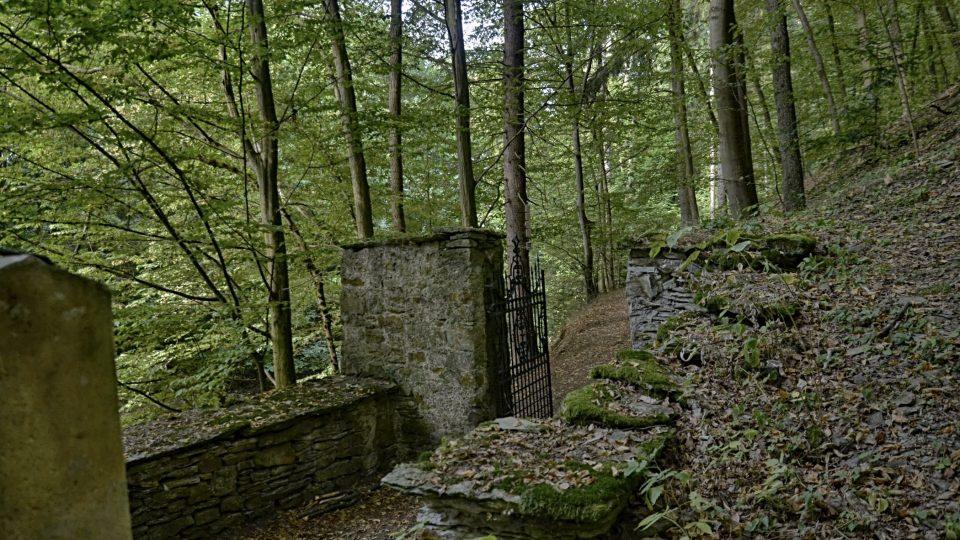 Lesní židovský hřbitov