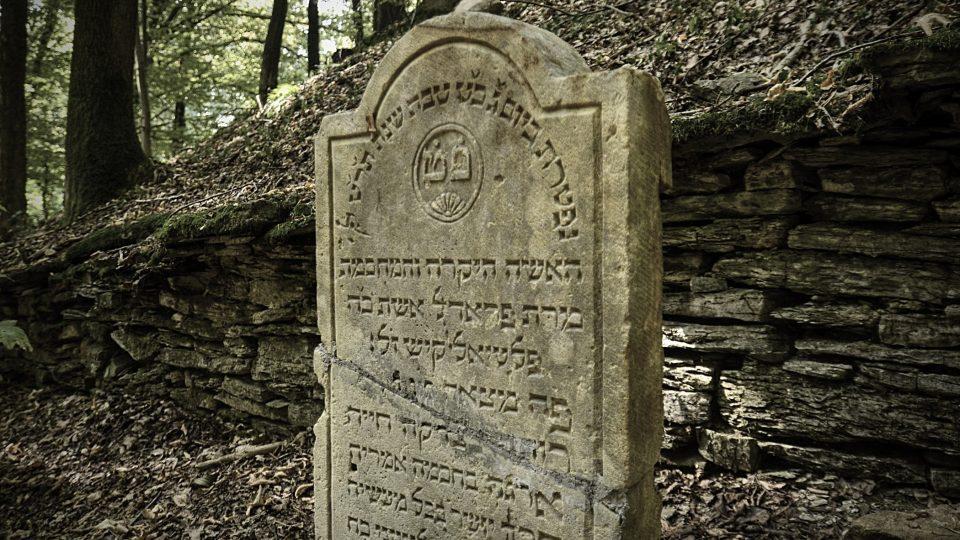 Restaurované náhrobky