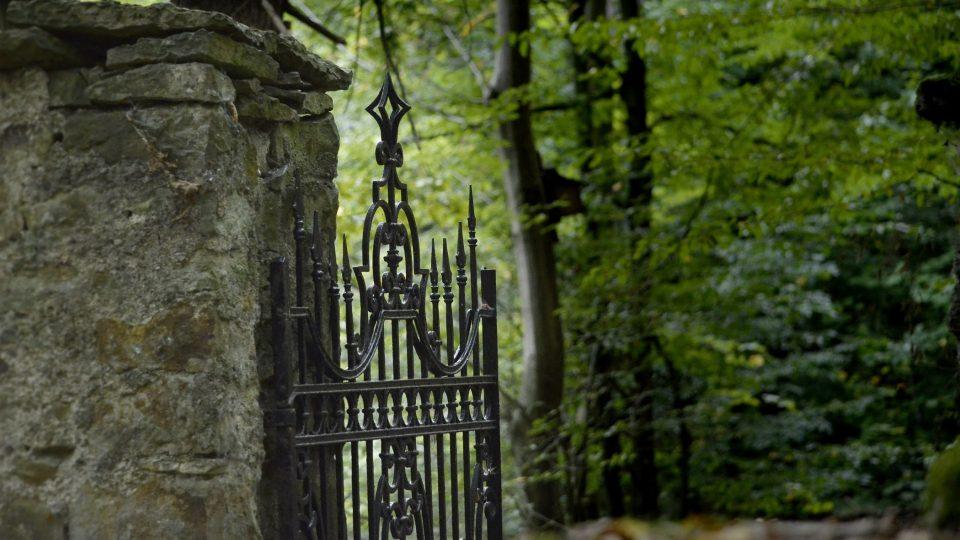 Vchod do židovského hřbitova