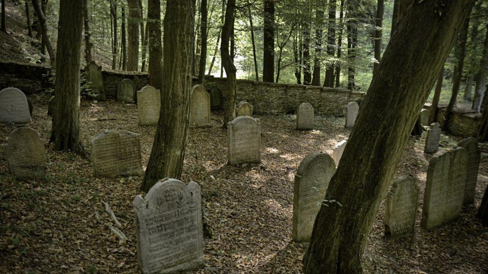Židovský hřbitov v Podbřezí