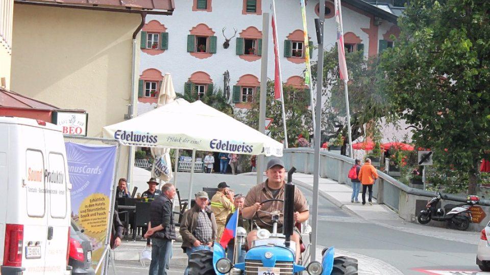 Martin Havelka ze Škrdlovic jede na Grossglockner