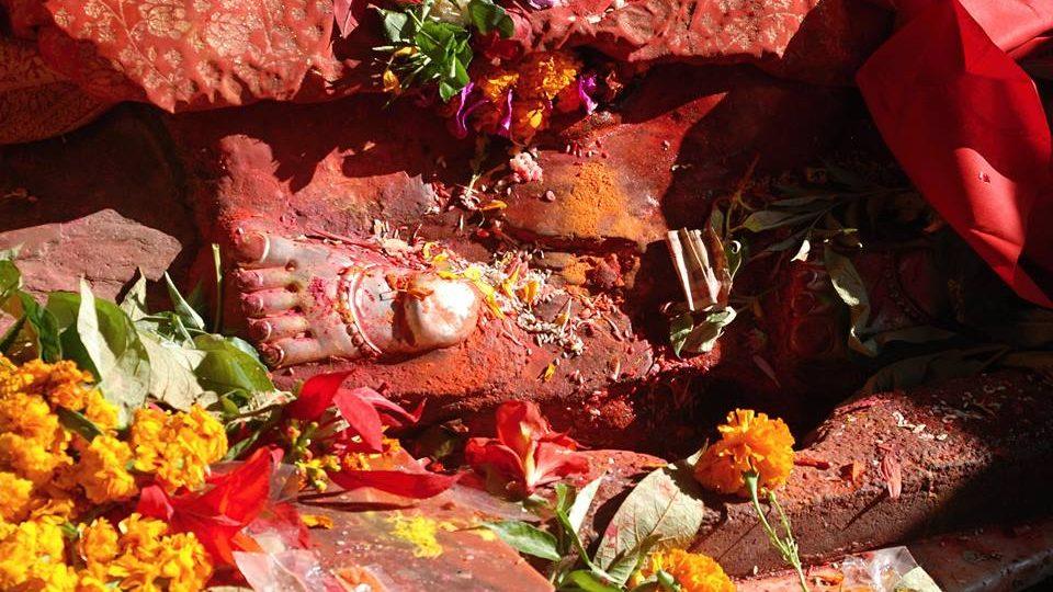 Obětiny v chrámu Dakšinkálí