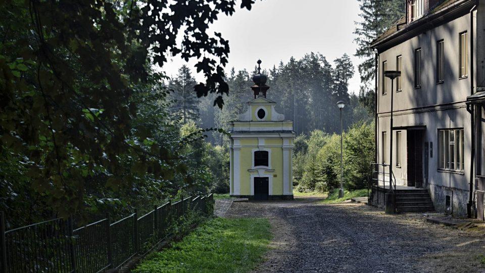 Svatojánské lázně s kaplí