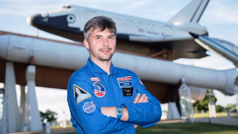 Marek Raja v americkém kosmickém a raketovém středisku