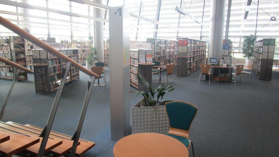 Stavbu knihovny v Liberci zaštítil i tehdejší prezident Václav Havel, který ji také po dokončení navštívil