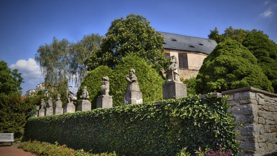 Unikátní sochy trpaslíků z dílny M. B. Brauna