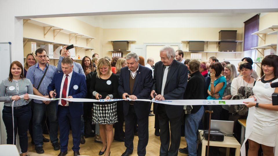 Slavnostní otevření prvního Centra duševního zdraví v Ústeckém kraji