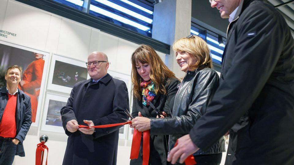 Galerie byla otevřena za účasti ministra kultury Daniela Hermana, ředitelky Veroniky Souralové a primátorky hlavního města Prahy Adriany Krnáčové