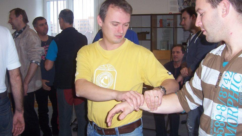 Psycholog Tomáš Adámek působí u Hasičského záchranného sboru Jihočeské kraje