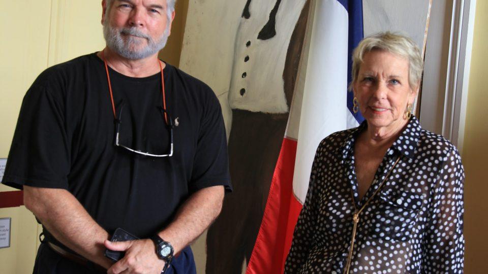 Prapraneteř Edgara Degase Marie Estelle Moyerová a David Villarrubia, majitel Degasova domu