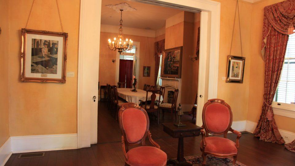 V Degasově domě v New Orleans je dnes muzeum