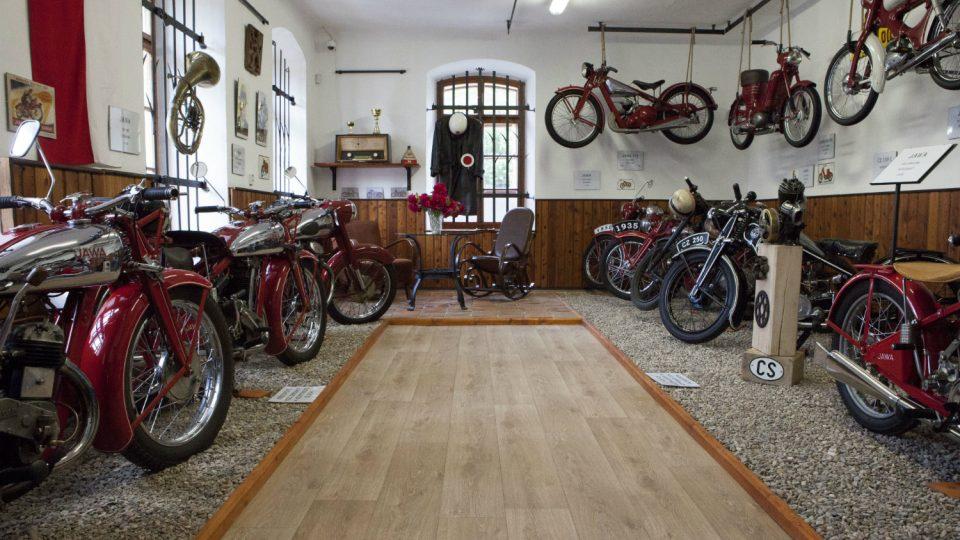 Muzeum historických motocyklů Svratouch