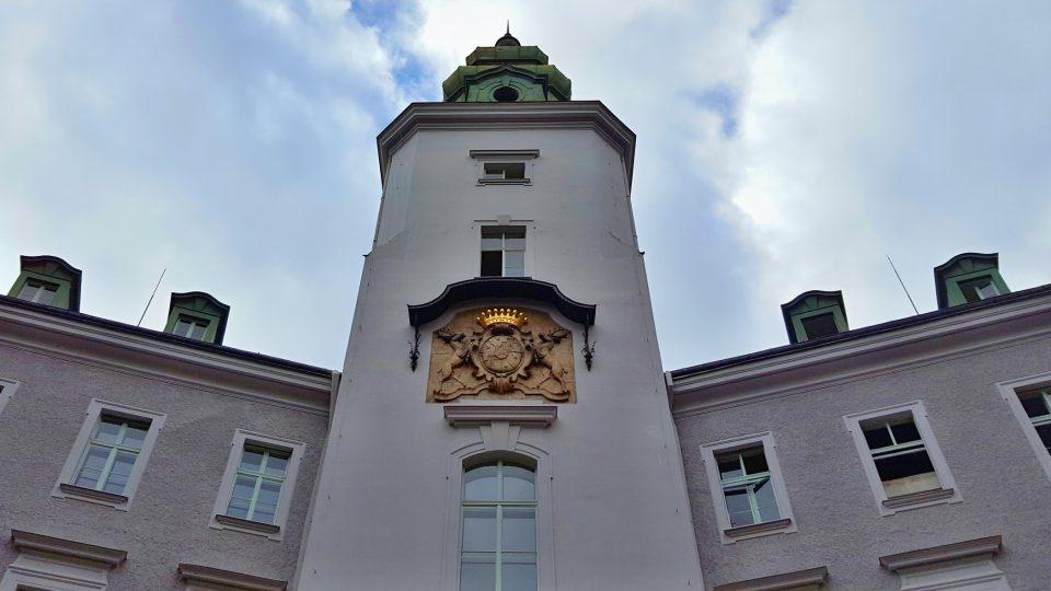 Novobarokní zámek v Chodové Plané