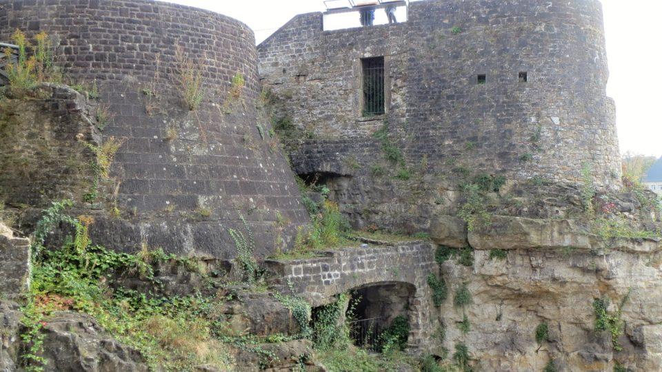 Střílny chránily Lucemburk před obléhateli