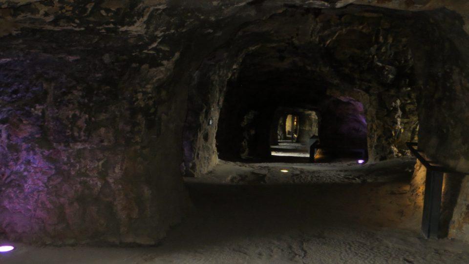 Kamenné zdi lucemburských kasemat ukrývaly přes dvacet kilometrů chodeb