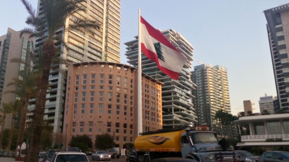 Centrum Bejrútu je čtvrtí bank a luxusních obchodů