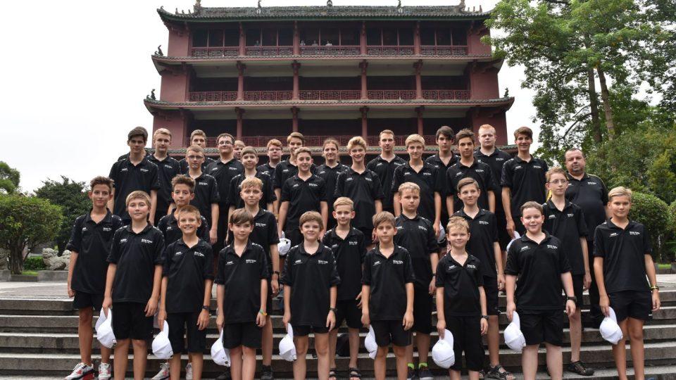 Český chlapecký sbor BONI PUERI sklidil v Číně velký úspěch