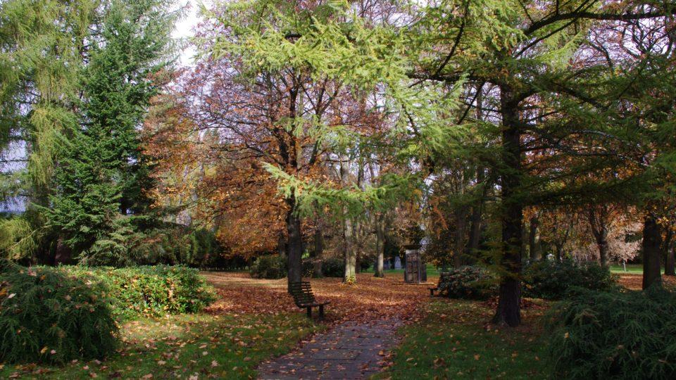 Vojenská část šumperského hřbitova