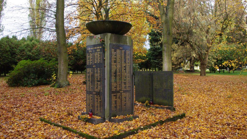 Vojenské pohřebiště z dob první světové války