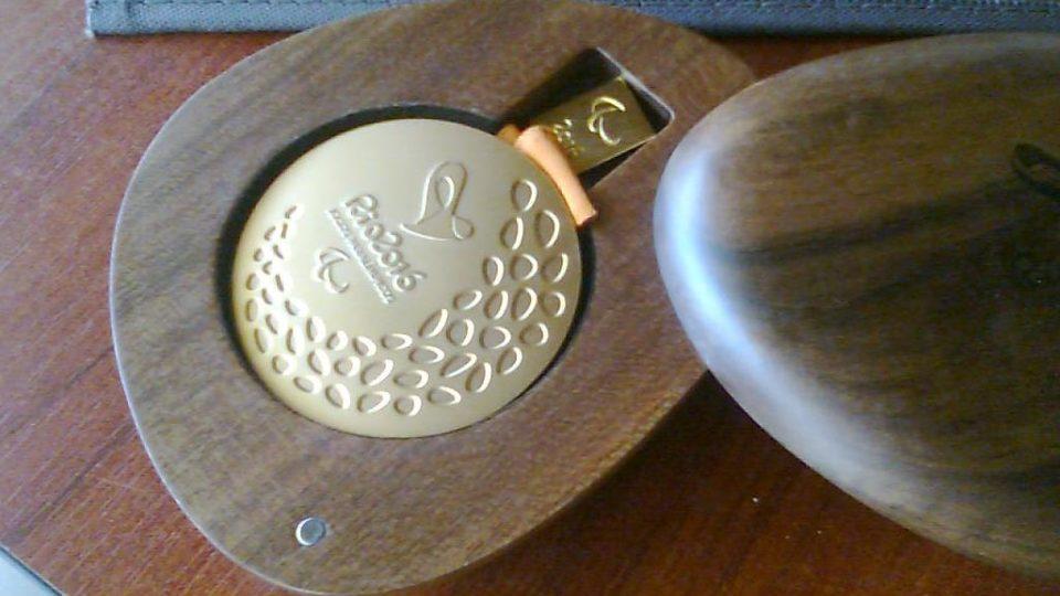 Medaile Arnošta Petráčka z paralympiády v Riu