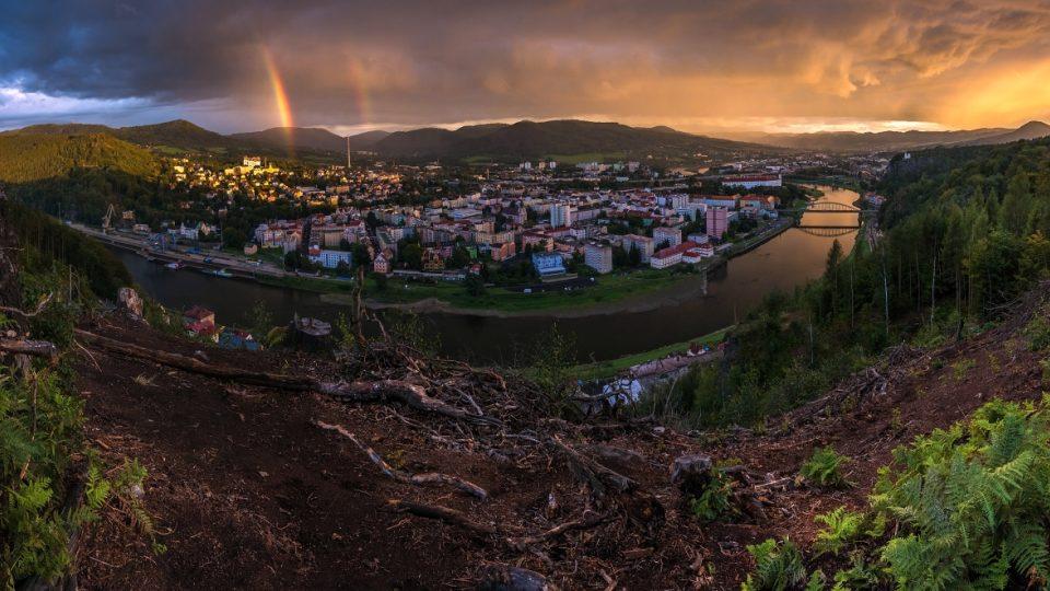 Panorama Děčín
