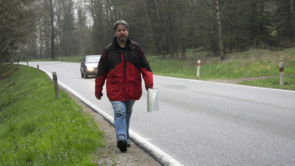 Otakar Dušek na pochodu smrti