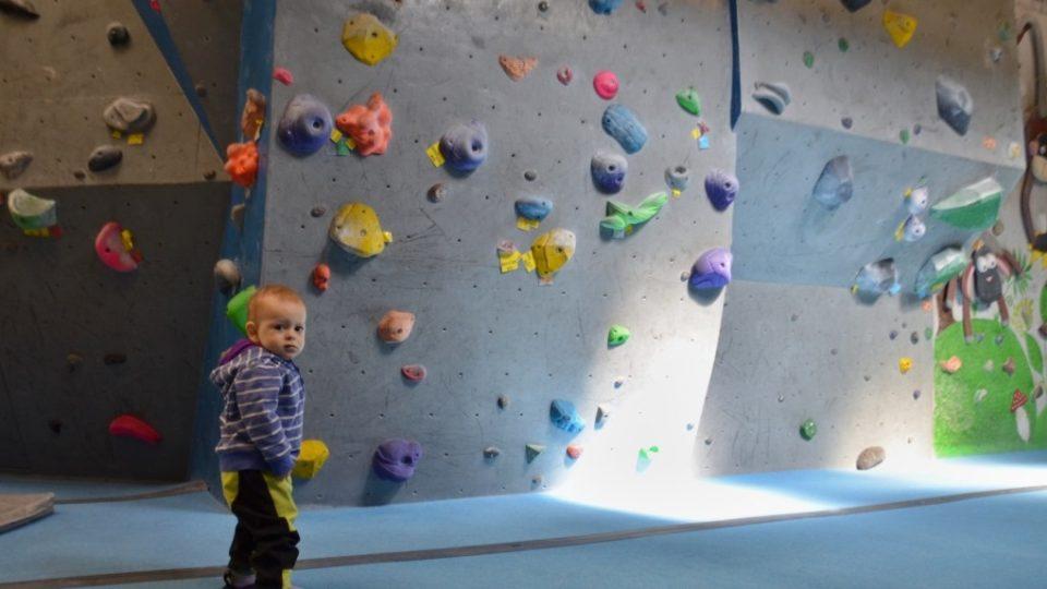 Boulderová stěna