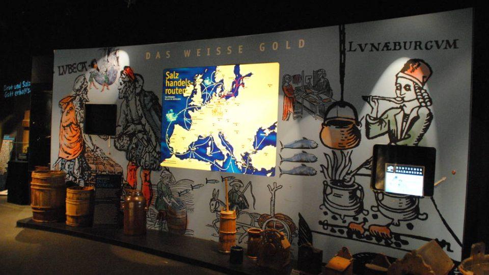 Expozice Muzea soli v Lüneburgu