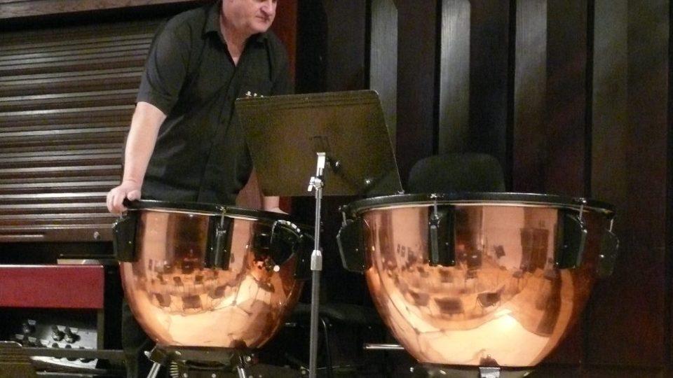 Kustod Jihočeské filharmonie Pavel Bandhauer