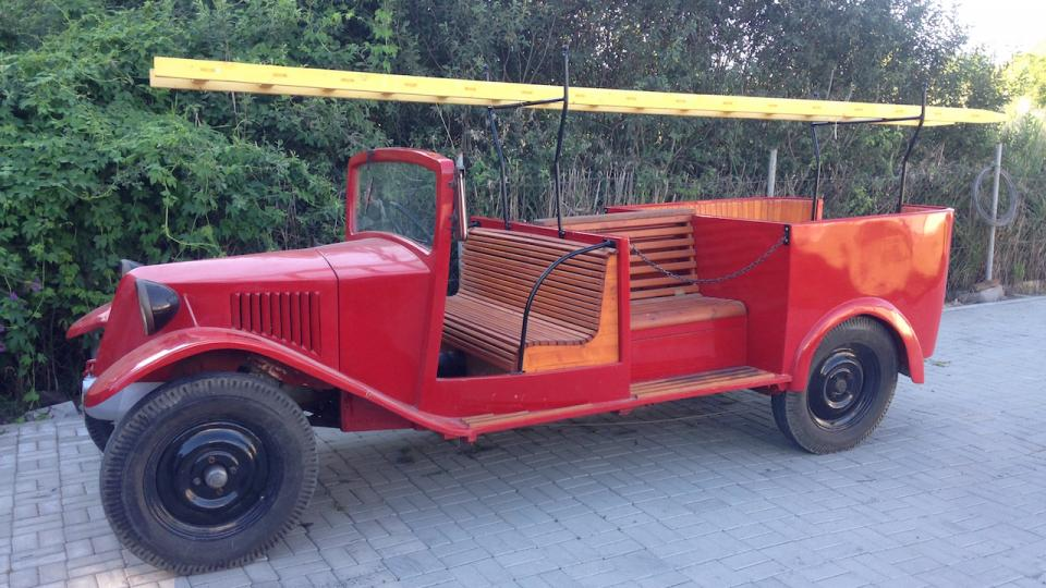 Nejstarší exponát Tatra 30